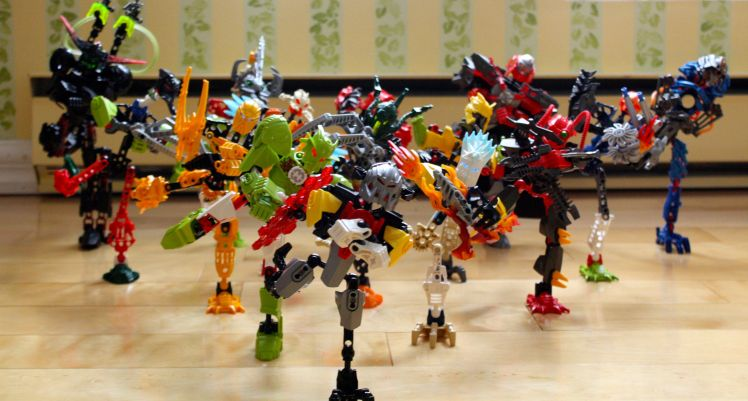 bionicles gangnam style