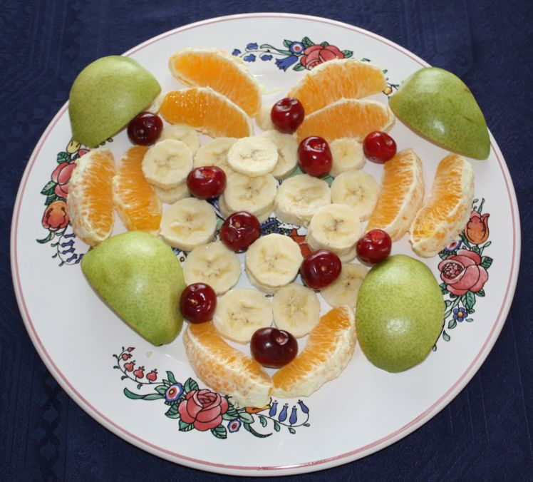 coeur en fruits