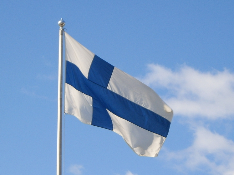 Drapeau de la Finland
