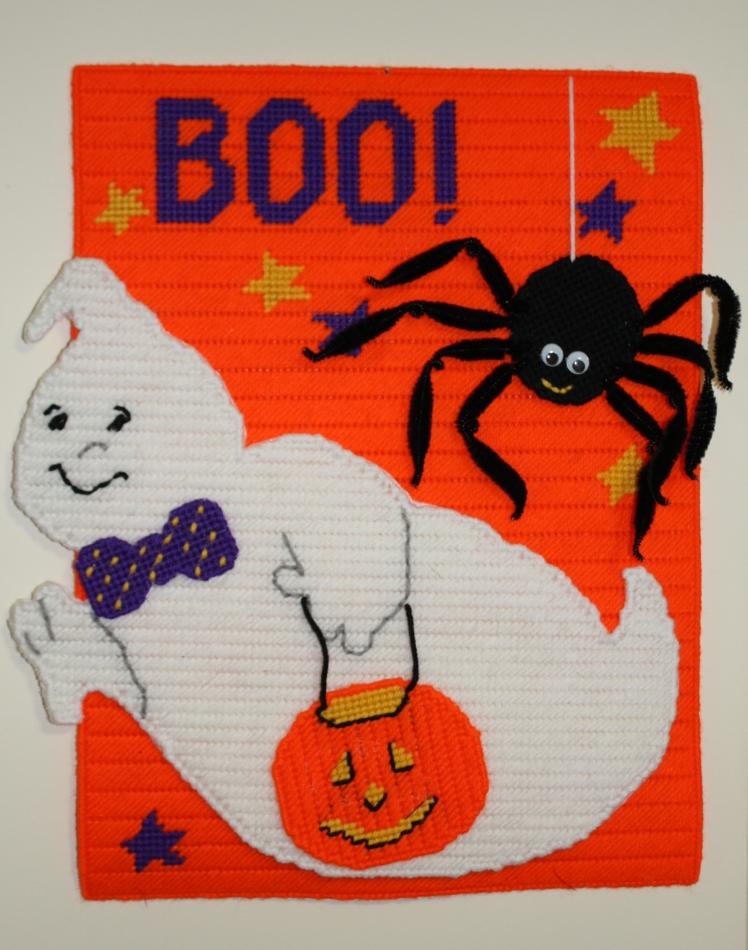 Fantôme et araignée