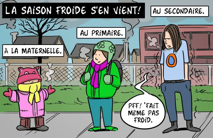 Ado et hiver