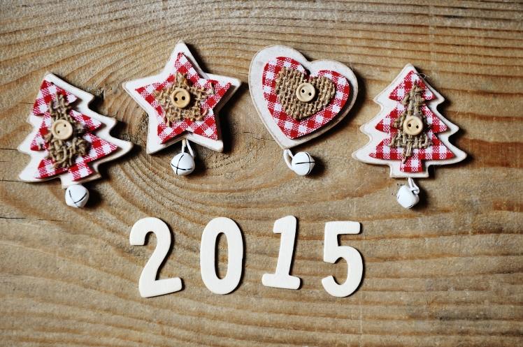 Bonne année 2015 bois