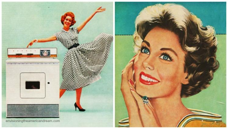 Une femme heureuse de son poêle