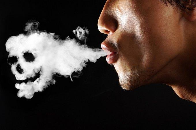 La fumée de mort