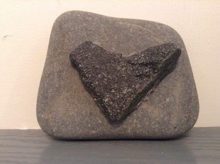 Coeur en roche