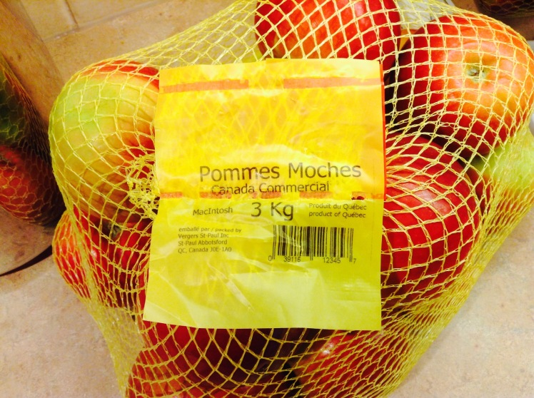 Pommes mochex
