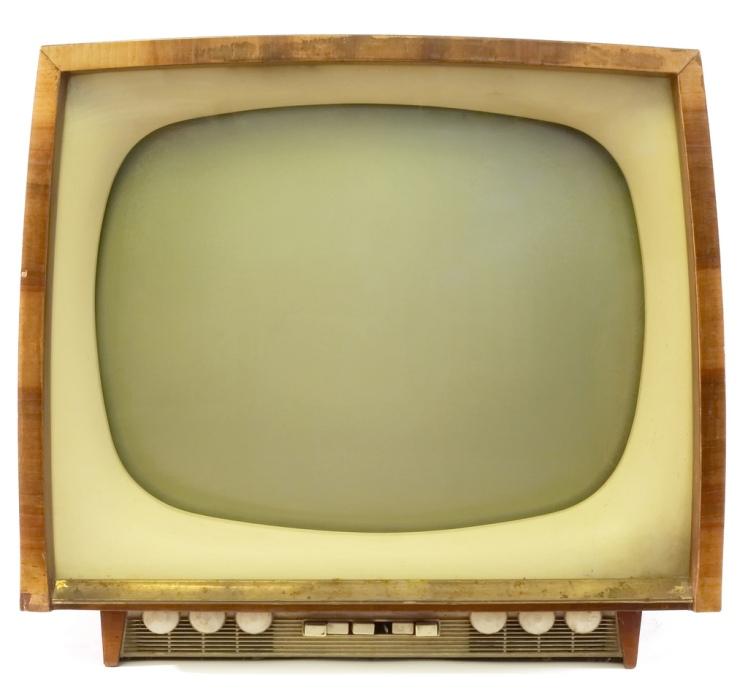 Télévision de l'ancien temps