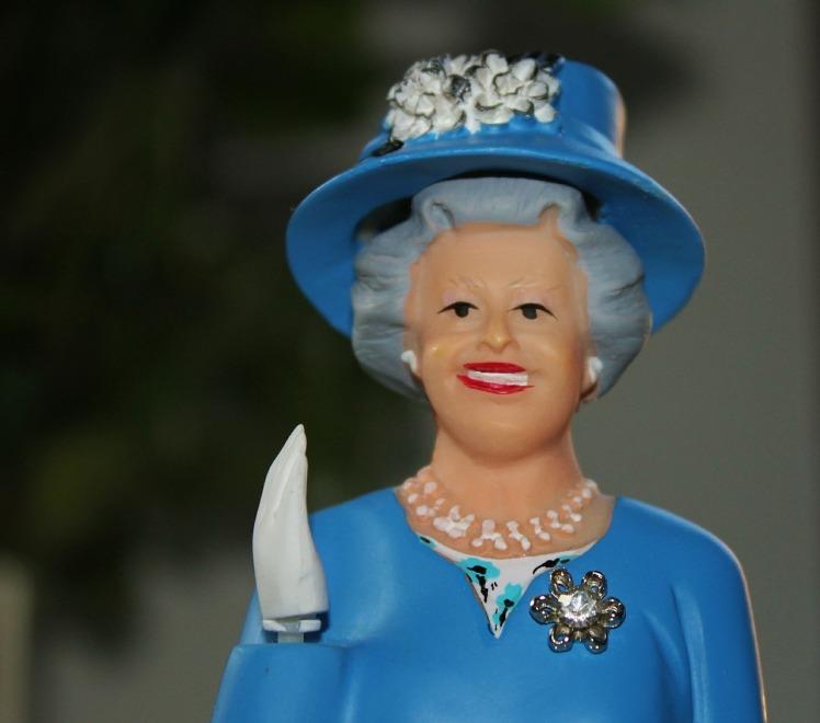 Comme la reine d'Angleterre