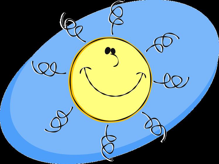 Le soleil rit de nous autres