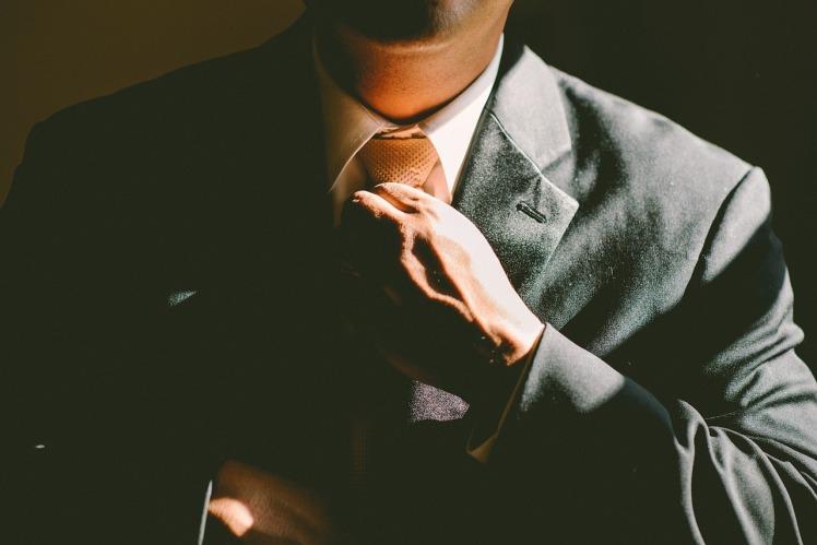 La cravate de James