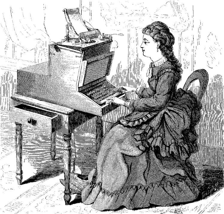 Une sainte secrétaire