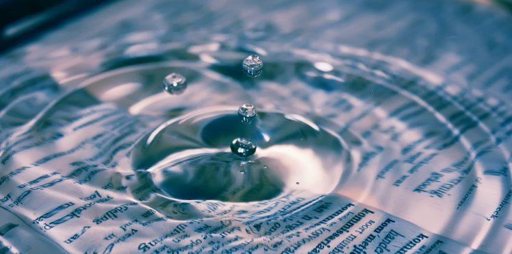 Le travail et l'eau