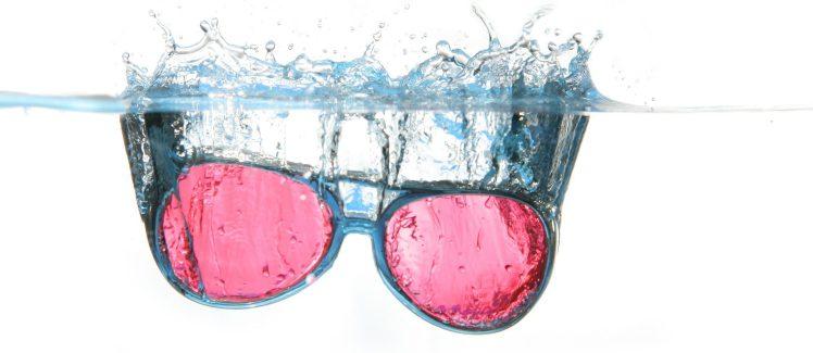 Les lunettes roses
