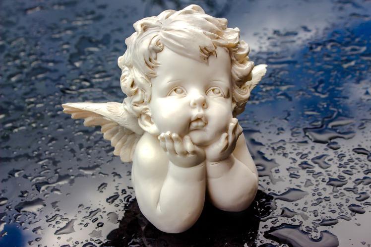 Même l'ange est mouillé