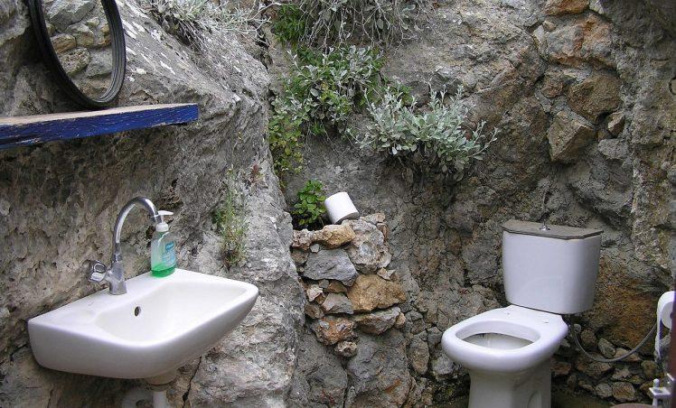 La toilette du sous-sol