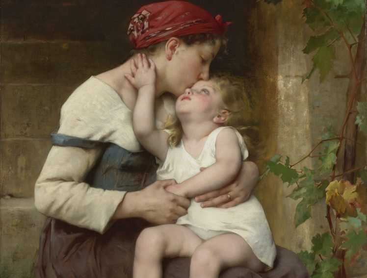 Anne berce Raoul